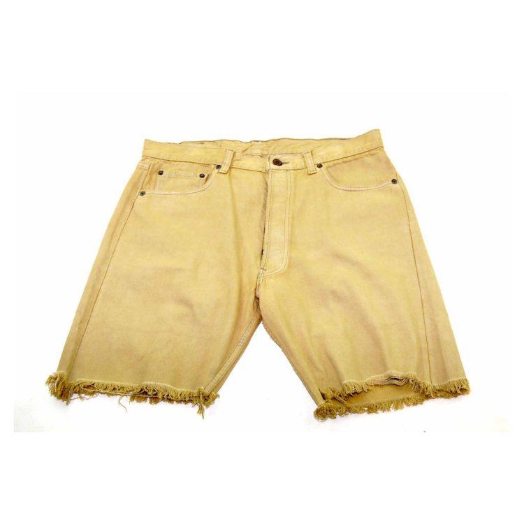 Levis Light Green Denim Long Shorts