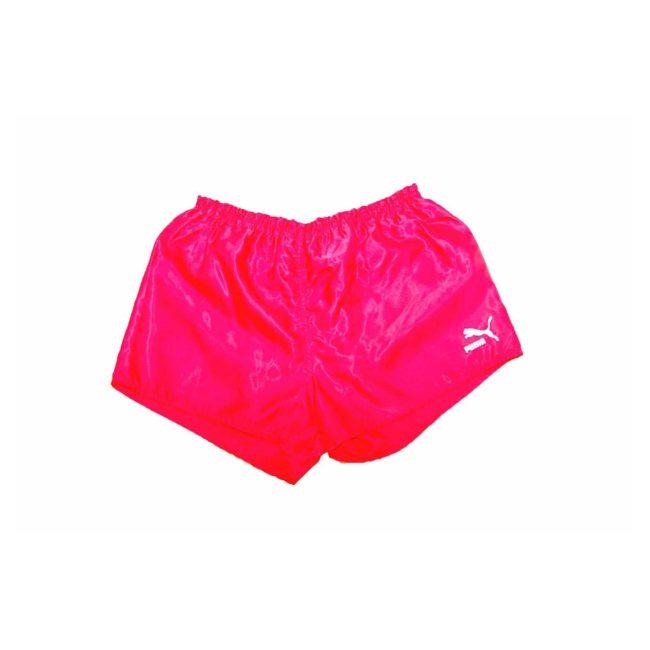 Puma Bright Red Shell Sport Shorts