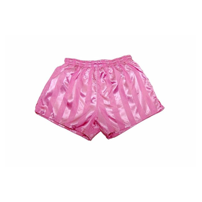 90s Pink Silky Shell Sport Shorts