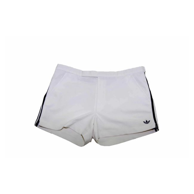Adidas White Navy Casual Shorts