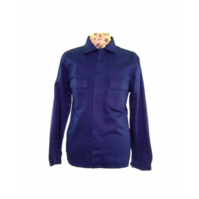 Vintage Blue French Work Jacket