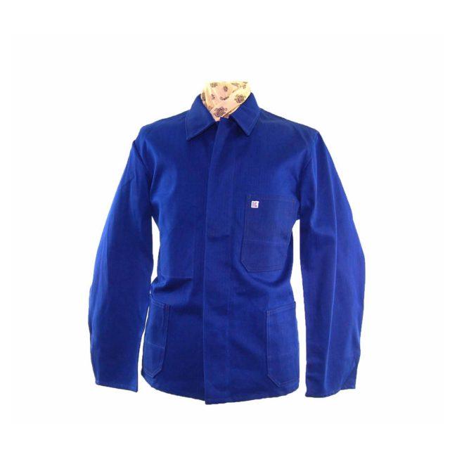 Dark Blue French Chore Jacket