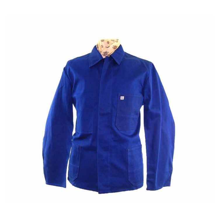 Dark Blue French Chore Jacket