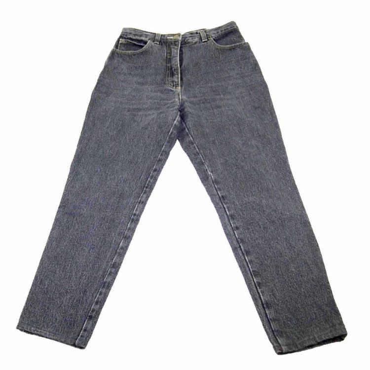 90s Black Denim Vintage Mom Jeans