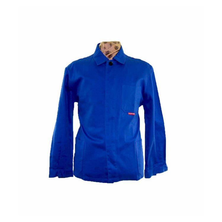 Royal Blue French Chore Jacket