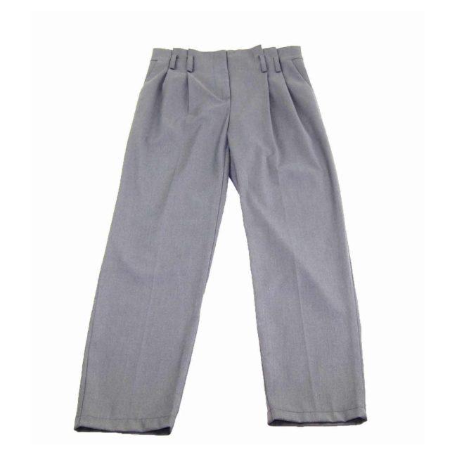 90s High Rise Dark Grey Dress Pants