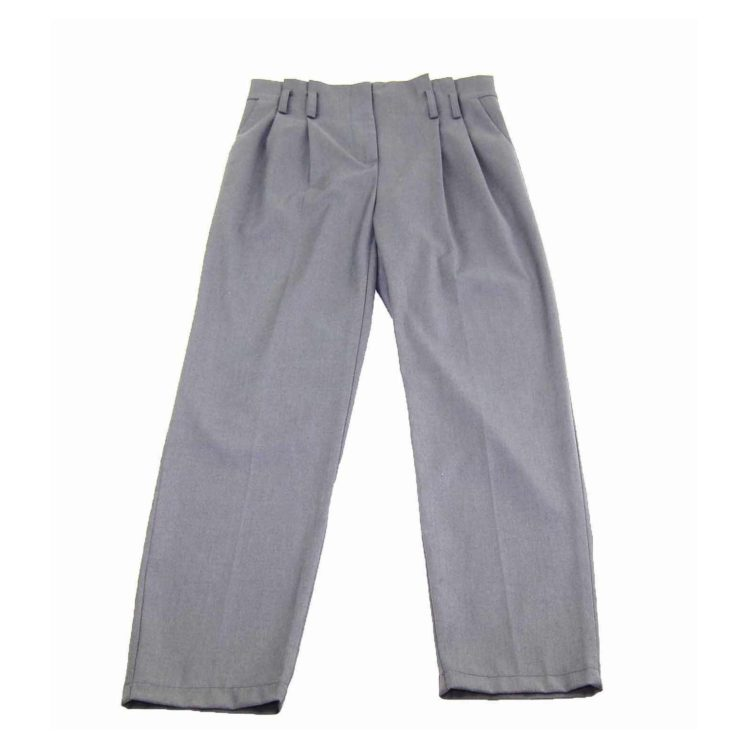 90s High Rise Dark Grey Dress Pants