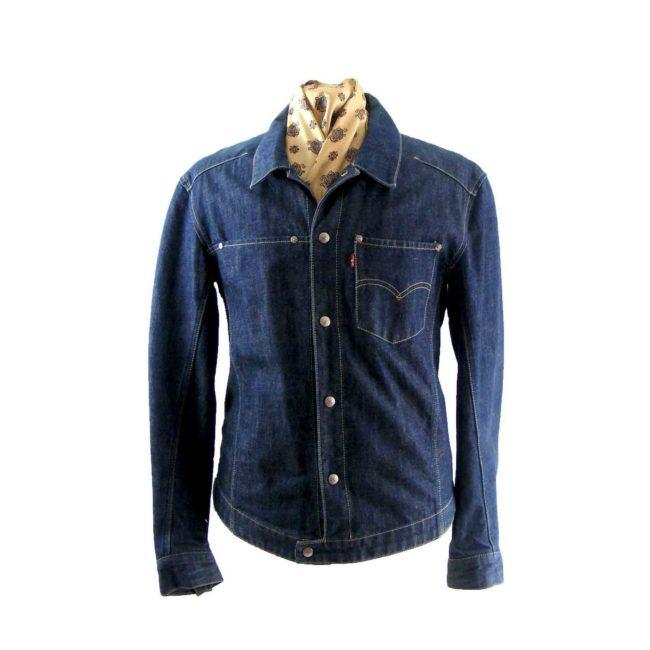 Dark blue Levis jacket