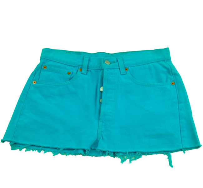 Levis 90s Sky Blue Skirt