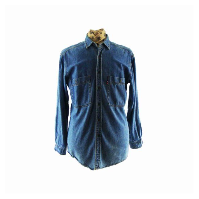 Levis Western Washed Denim Shirt