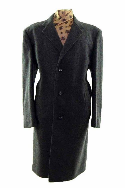 Long Wool Coat Mens