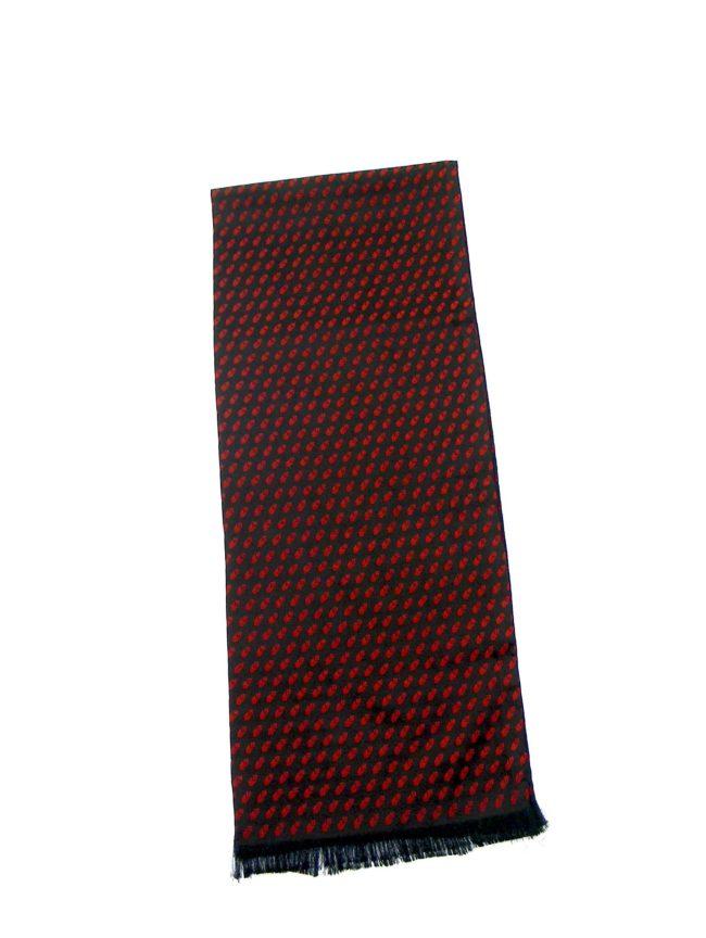 50s Mens printed scarf