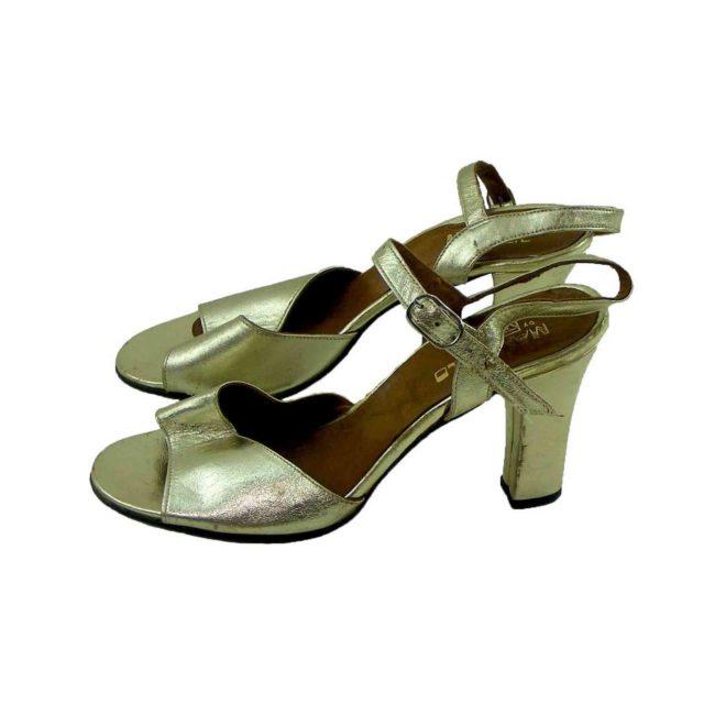 Metallic Gold Sandals