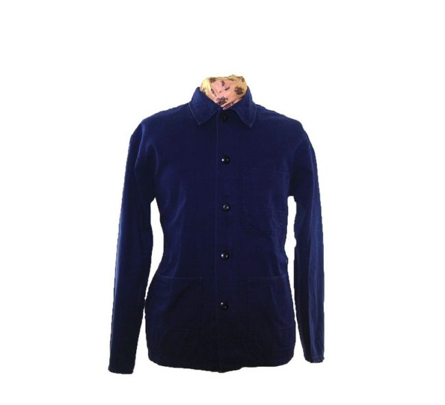 Navy Blue Work Jacket