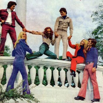 Rockin their 70s shirts UK in 1972