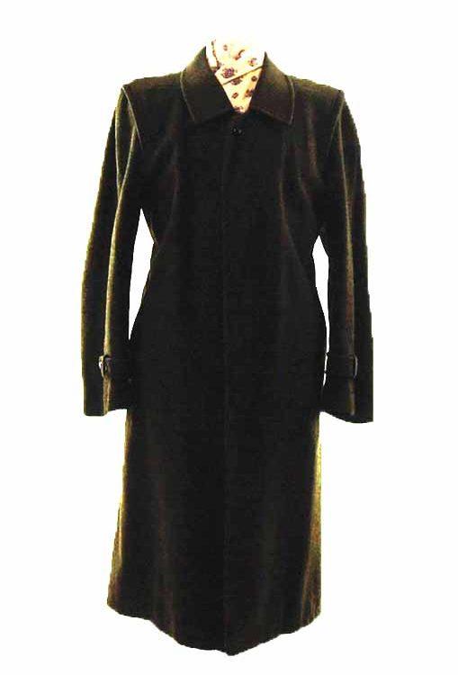 Vintage Brown Long Coat