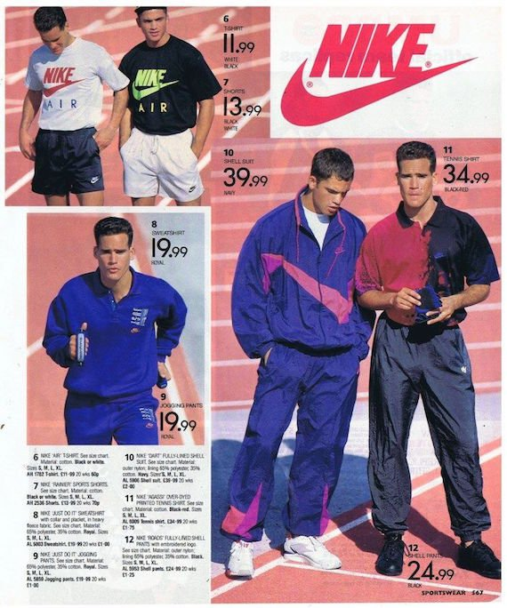 Nike shell suit