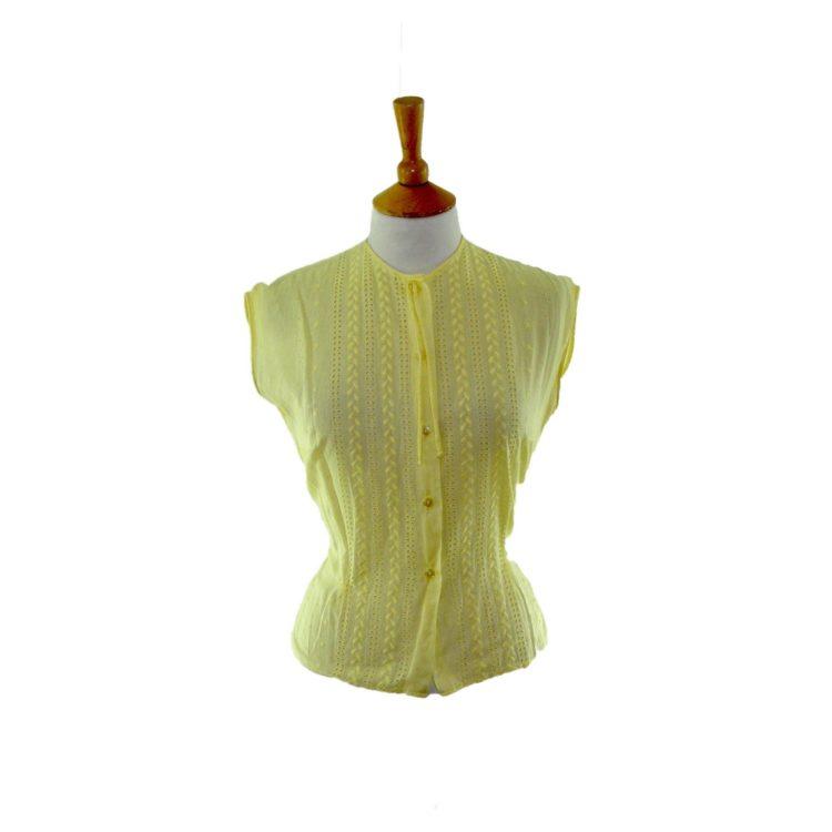 50s vintage blouse