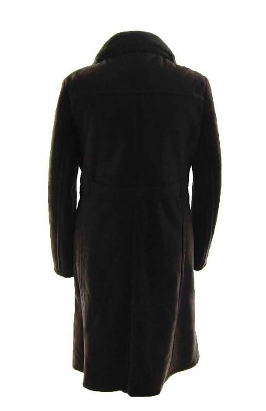 back of Mens Vintage Sheepskin Coat