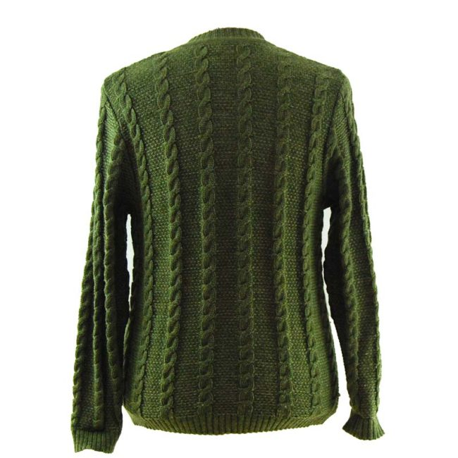 back of Traditional Hungarian Cardigan