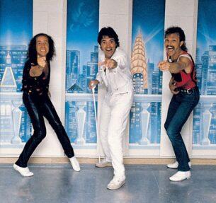 Three men in their 80s shirts mens, 1988