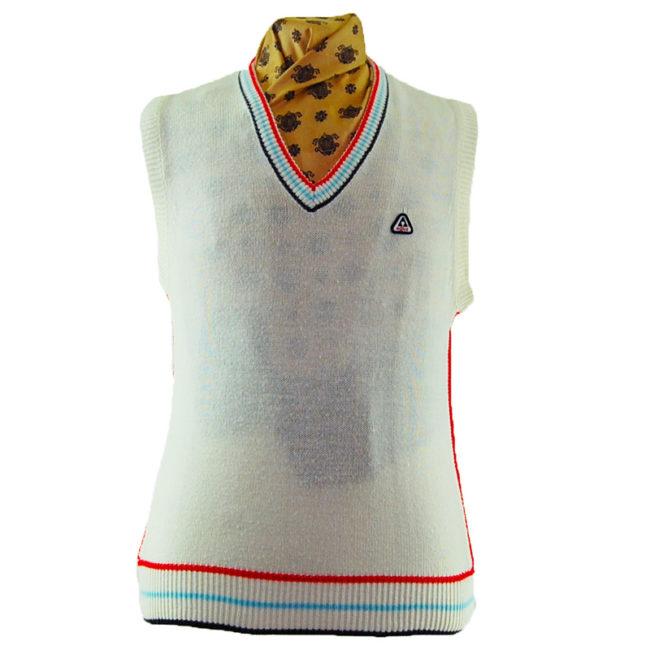 70s Vintage Authentic Sports Vest