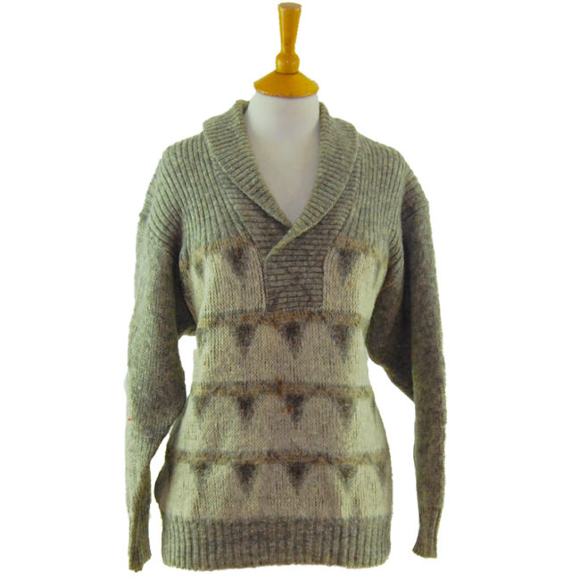 Canadian Two Ply Wool Sweater