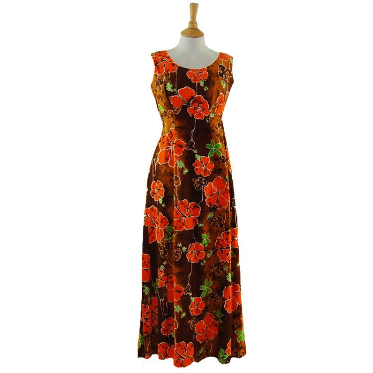 70s Authentic Hawaiian Summer Dress