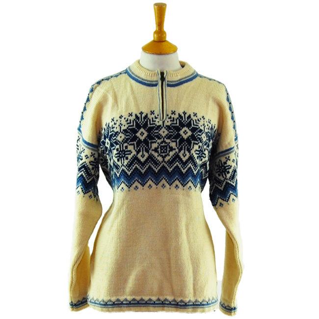 90s Dale Classics Norwegian Sweater