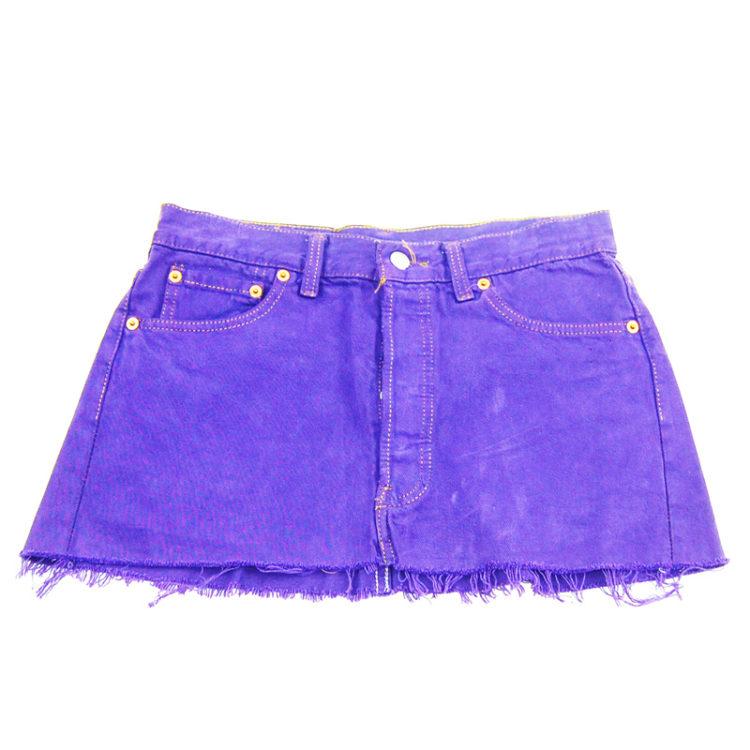 90s Petite Levis Mini Skirt