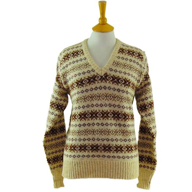 90s Scottish Pure Wool Jumper