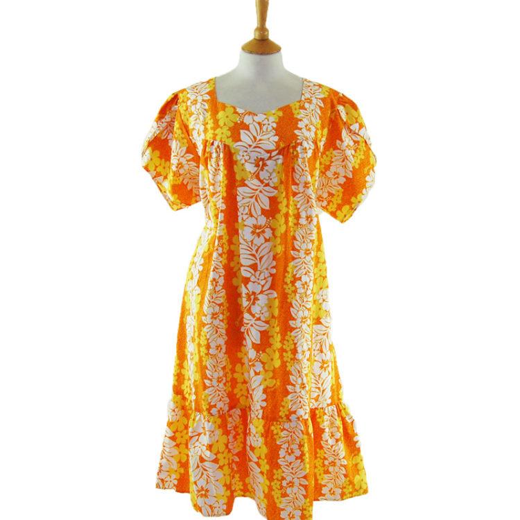 Hawaiian MuuMuu Dress