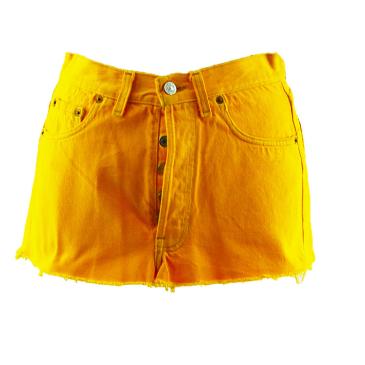 Levis 90s Canary Yellow Skirt
