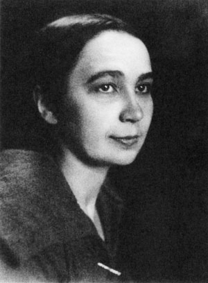 Natalia Goncharova portrait photo