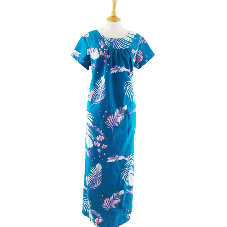 Tropical Pattern Synthetic MuuMuu