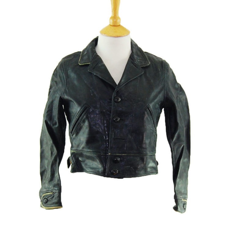 1940s Womens Leather Jacket