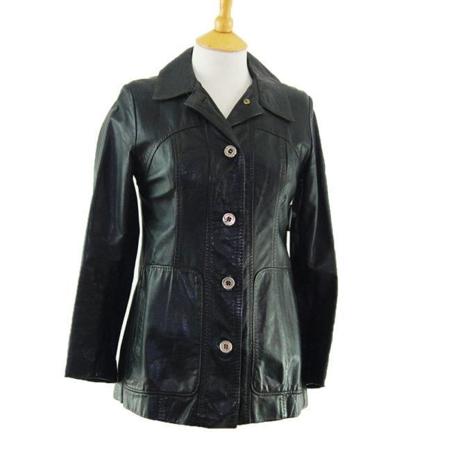 70s Authentic Vintage Leather Jacket