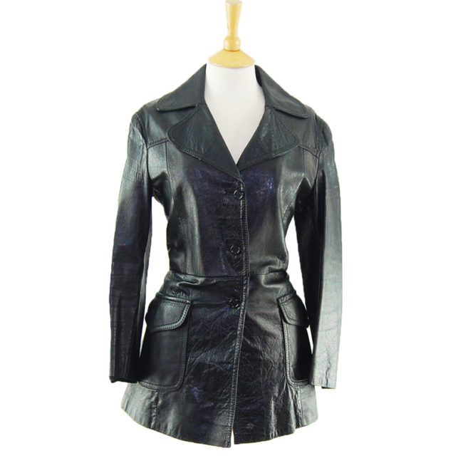 70s Pure Leather Womens Jacket