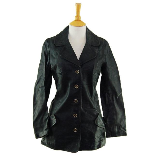 70s Vintage Pure Leather Jacket