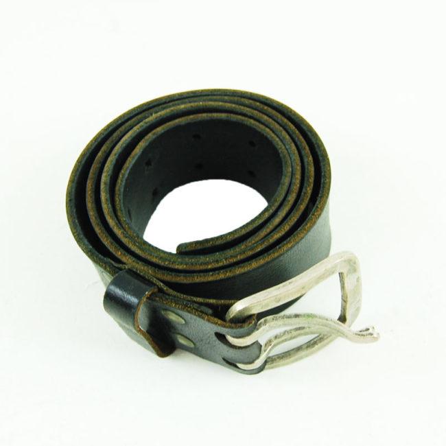 80s German Two Buckle Belt