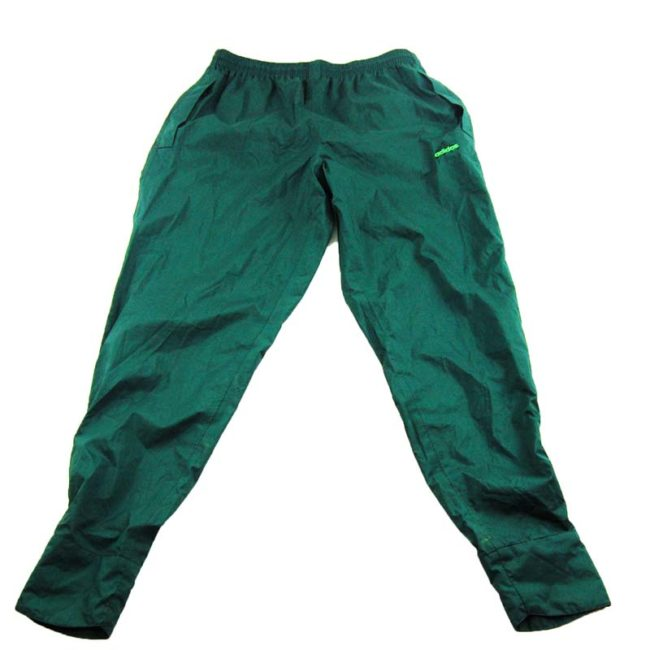 90s Green Adidas Golfing Trackie Bottoms