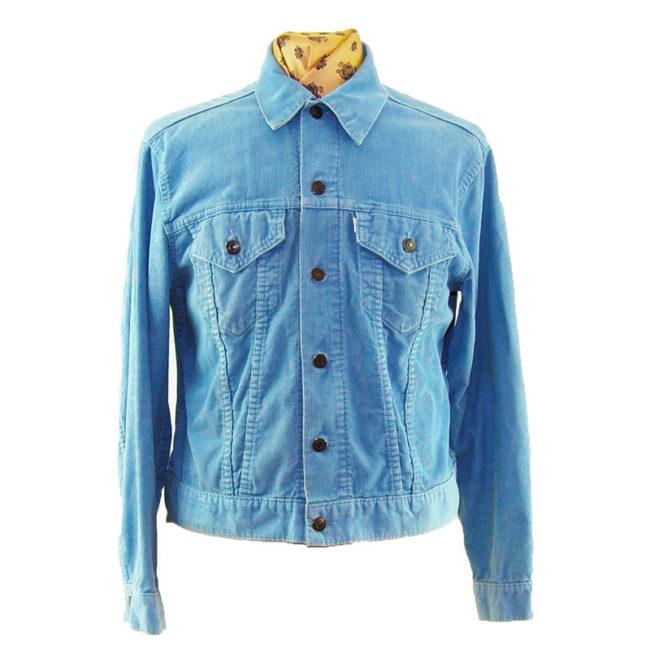 70s Blue Levis Corduroy Jacket