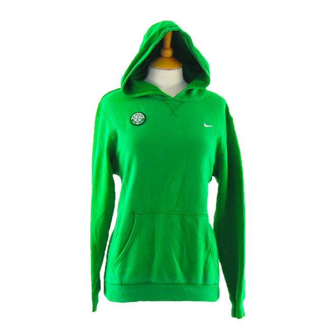 Green Nike Scottish Football Hoodie