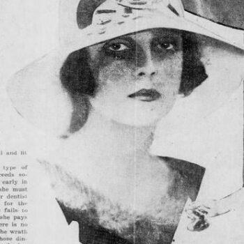 Paula Gellibrand, 1924