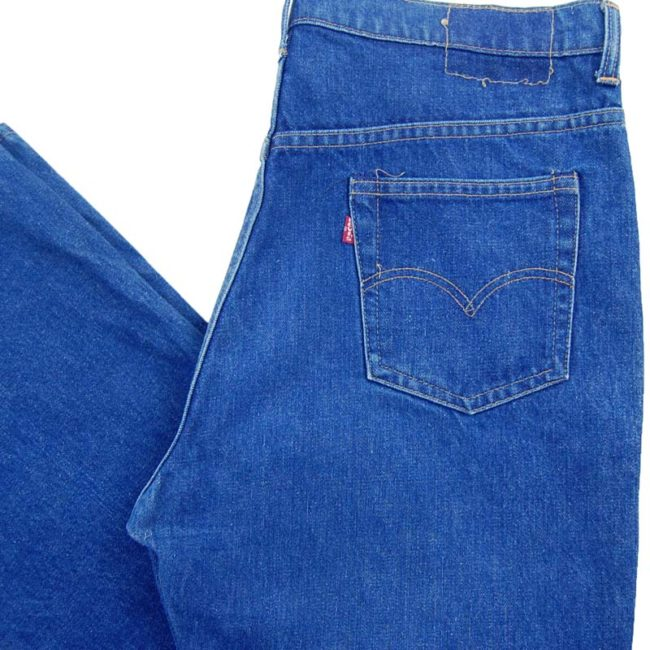 back of Levi 517 Boot Cut Jeans