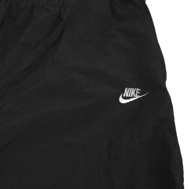 logo of 90s Nike Thick Black Joggers
