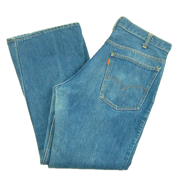 side of Levi Bootcut 550 Jeans