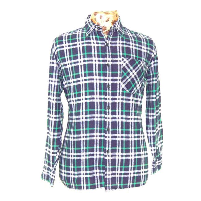 90s Vintage Grunge Checkered Shirt