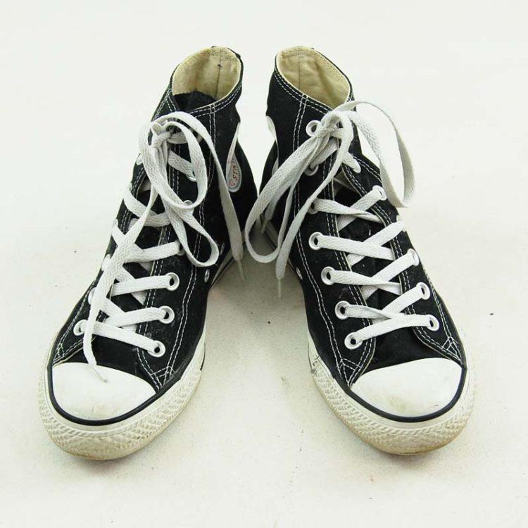 Black Ladies Converse Sneakers