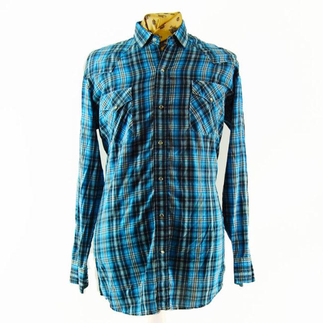 Blue Cowboy Western Shirt